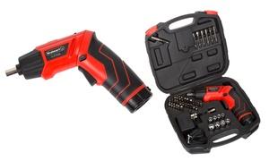 Stalwart 3.6V Cordless Screwdriver Set (45-Piece)