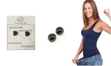 Pendientes magnéticos que favorecen la perdida de peso