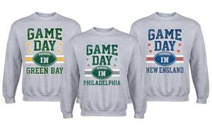 Men's Game Day Football Sweatshirt