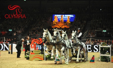 The London International Horse Show, 12–18 December at London Olympia (Up to 52% Off)
