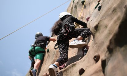 image for 90-Minute Lesson in Climbing, Canoeing or Archery for Up to Four at Ackers Adventure Centre (Up to 56% Off)