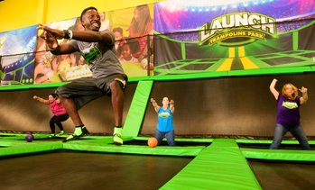 Up to 48% Off Trampoline Jump Pass at Launch Trampoline Park