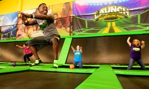 Up to 40% Off Jump Passes or Parties at Launch Trampoline Park