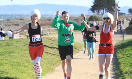 5K or 10K Registration for One or Two to Elf On The Run on December 16 (Up to 46% Off). Four Options Available.