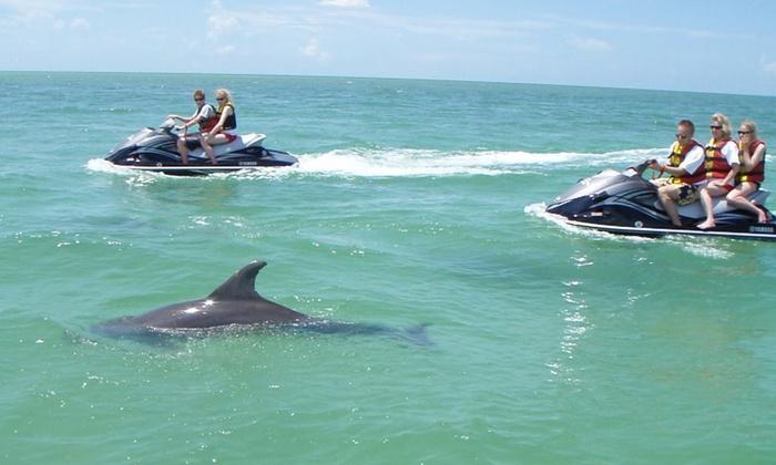 Splash Jet Ski - Multiple Locations: Up to 55% Off Dolphin Tour & Jet Skiing at Splash Jet Ski