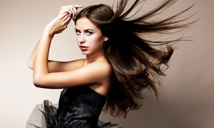 Eastwood Hair Designs - Eastwood: Haircut, Single-Process Color, Brazilian Blowout, or Barber Cut and Design at Eastwood Hair Designs (50% Off)