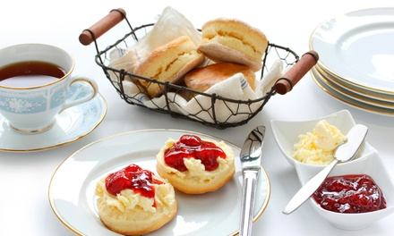 Afternoon Tea with Bubbly on a Weekday or Weekend for Two, Four or Six at Larkfield Priory Hotel (Up to 68% Off)