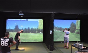 Par-Tee Indoor Golf Center: Virtual Golf and Bucket of Beers - Two ($65) or Three-Hours ($85) at Par-Tee Indoor Golf Center (Up to $176 Value)