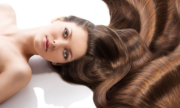 Ana's Studio - Color Works: Brazilian Keratin Treatment or Hairstyle and Makeup Packageat Ana's Studio (Up to 60% Off)