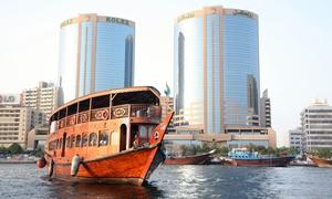 Desert Rangers: Dubai Creek Dinner Cruise for Children and Adults with Desert Rangers