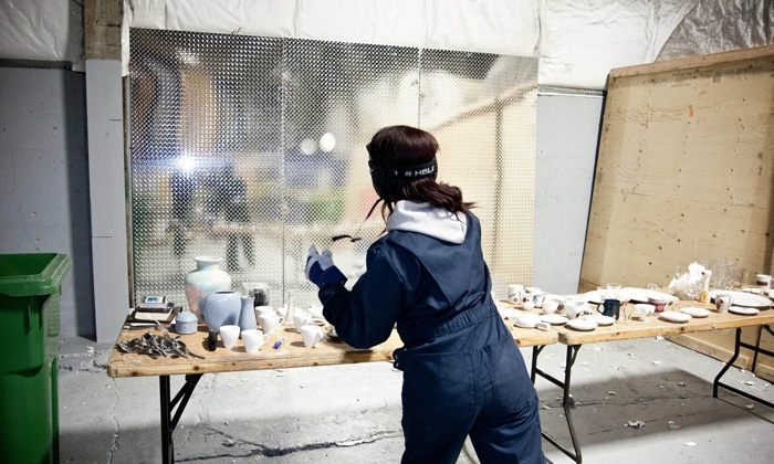 """""""Small Breakage"""" Demolition Activity for Groups of 2, 4, 6, 8 or 10 at Casse-Cité (Up to 56% Off)"""