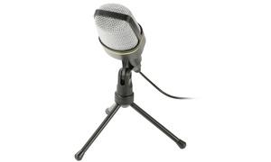 iMounTEK Condenser 3.5mm Studio Recording Microphone with Tripod