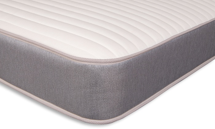 Memory Foam Sprung Mattress with Knitted Cover from £69.98 (22% OFF)