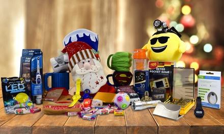 Kerstsokken met 10 verrassingcadeaus voor kinderen of volwassen