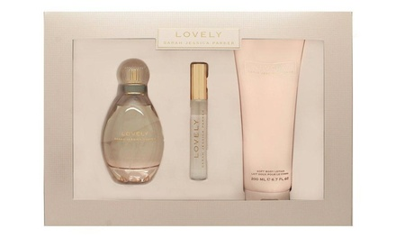 Sarah Jessica Parker Lovely Gift Set for Women (3-Piece)