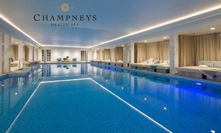 Champneys Eastwell Manor: Full Board 26 Hr Spa Break in Double/Twin Room Plus Optional Treatments