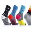 UGLYSOX Unisex Crew-Length Compression Socks (6 Pairs)