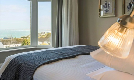 Cornwall: 13 Nights for Two with Breakfast, Glass of Wine, Spa Access and Optional Dinner at The Gannet Inn