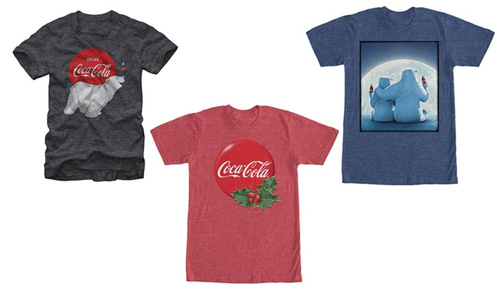 Men's Coca-Cola Holiday Tees