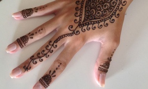 Tatuaje de Henna: Un tatuaje de henna para una persona o dos tatuajes de henna para una o dos personas desde 6,90 € en Tatuaje de Henna