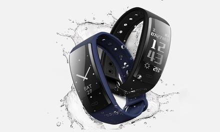 QS90 Smart-Armband in Schwarz, Dunkelblau oder Lila inkl. Versand (Stuttgart)