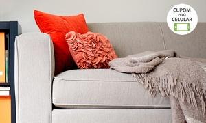 Pano Limpo: Limpeza de sofá de até 5 lugares ou jogo de 2 e 3 lugares (com opção de impermeabilização) com a Pano Limpo