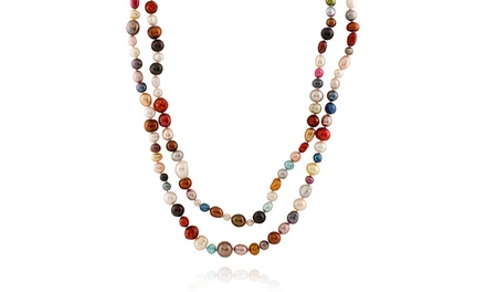 Splendid Pearls Endless Necklace