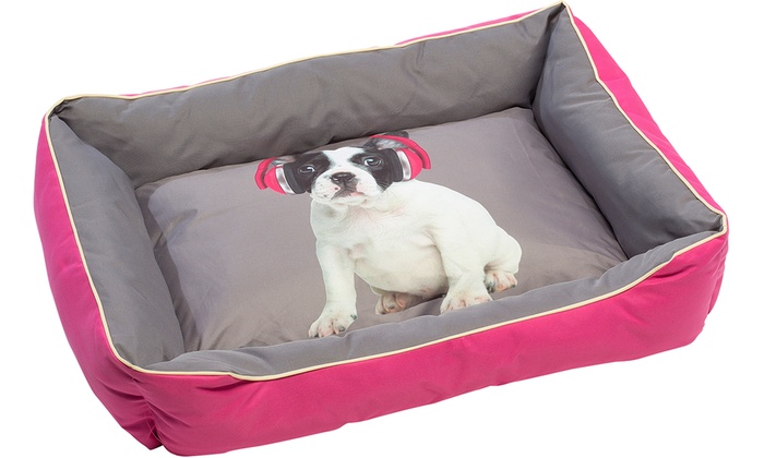 grand lit pour chien groupon. Black Bedroom Furniture Sets. Home Design Ideas