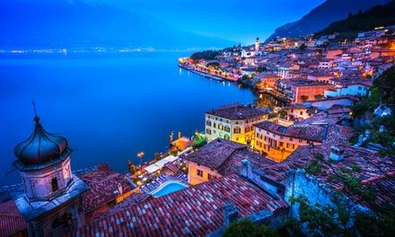 Lac de Garde : jusquà 7 nuits en demi pension ou All inclusive avec accès spa illimité à lHôtel Villa delle Rose