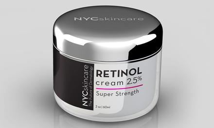 Retinol 2.5% Super Strength Face Cream (2 Oz.)