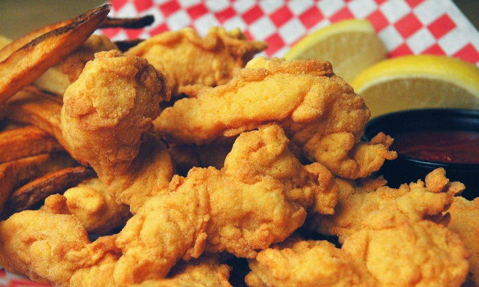 Lazy Joes Fish and Chips - Enterprise: $15 for $20 Worth of Seafood and Casual American Food for Two at Lazy Joe's Fish and Chips