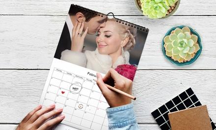 Hasta 5 calendarios A4 especial navidad desde 1€ con Printerpix (hasta 95% de descuento)