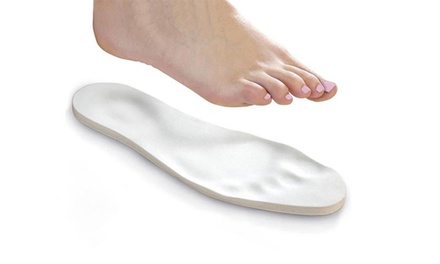 Memory Foam Insoles: One $8.95, Two $11.95 or Three $14.95 Pairs