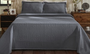 Superior 100% Cotton Oversized All-Season Bedspread Set