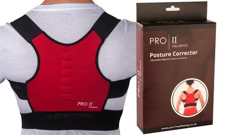 1 ou 2 correcteurs de posture ajustables Pro 11 Wellbeing