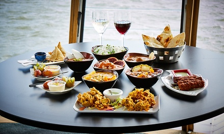 SixDish Indian Fine Dining Experience $39 or 4 $78 People at Spice Lounge Port Melbourne Up to $341 Value