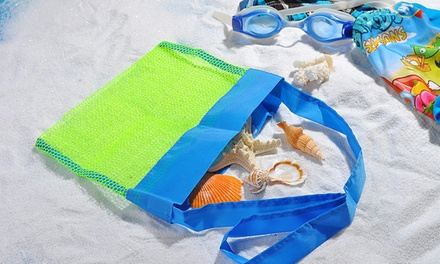 Beach Storage Organiser Bags: One Tote ($9.95), Two Shoulder ($9.95) or One Tote and Two Shoulder ($15)