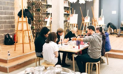 image for Painting Experience on Special Objects for One or Two at Liberté Concept (Up to 43% Off)