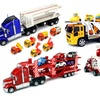 Semi Truck Friction Car Toys