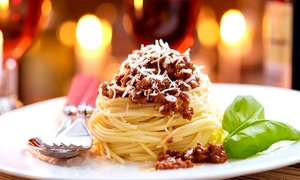 Buono Bistro: Italian Dinner Cuisine for Two or Four at Buono Bistro (Up to 50% Off). Three Options Available.