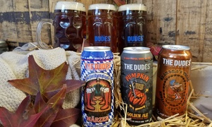 46% Off a Fall Beer Tasting at The Dudes' Brewing Company at The Dudes' Brewing Company, plus 6.0% Cash Back from Ebates.