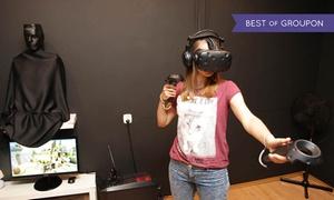 Cybermagia Sp. z o.o.: Wirtualna rzeczywistość: sesje HTC Vive, wprowadzenie do VR z Samsung Gear VR dla 2 osób za 10,99 zł i więcej (do -45%)