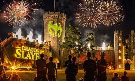 Warwick Castle Dragon Slayer Show, 7–26 August