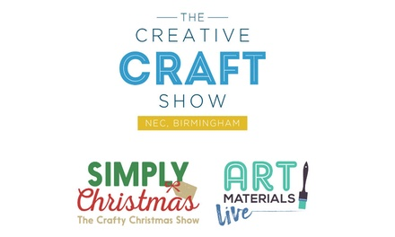 The Creative Craft Show, 1–4 November at The NEC