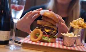 Tribeca Woodlands: Choice of Specialty Burger and Fries for Two at Tribeca Woodlands (Up to 53% Off)