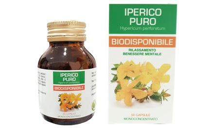 Integratore alimentare di Iperico 50 capsule da 350 mg