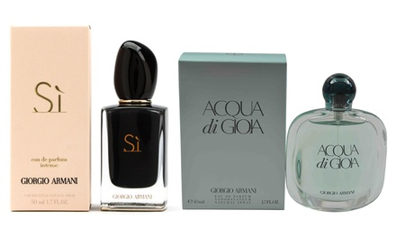 Giorgio Armani Fragrance in Choice of Scent for £59.99 With Free Delivery