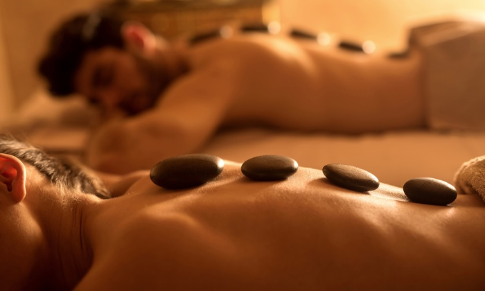 Indian Massage - Indian Massage: Indian Couples Massage w/Aromatherapy, Hot Stones, and Optional Herbal Bowls at Indian Massage (Up to 47% Off)