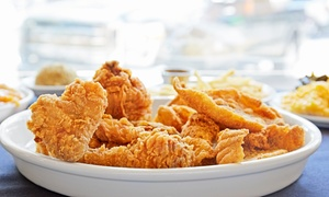 Around the Clock Chicken and Fish: Comfort Food at Around the Clock Chicken and Fish (40% Off). Three Options Available.