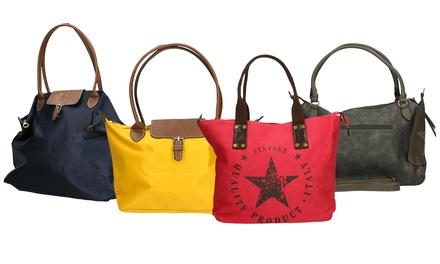 Borsa in ecopelle di Roberta Rossi, disponibile in 4 modelli e vari colori da 19,98 € (fino a 80% di sconto)